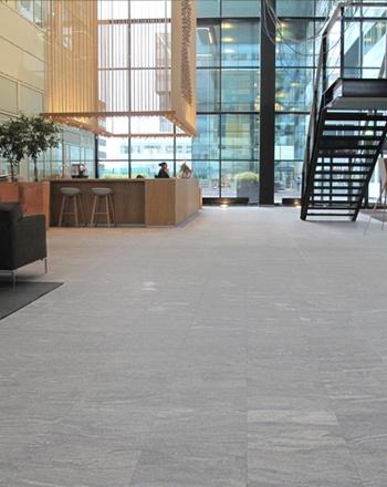 chemdry kuster & de leur modern kantoor natuursteen minerva amsterdam